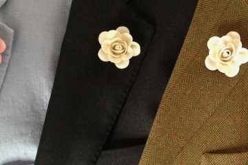 ButtonHoles - Boutonniere Yellow Rose