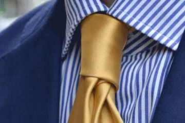 Gold ties for men