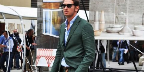Green Suits For men