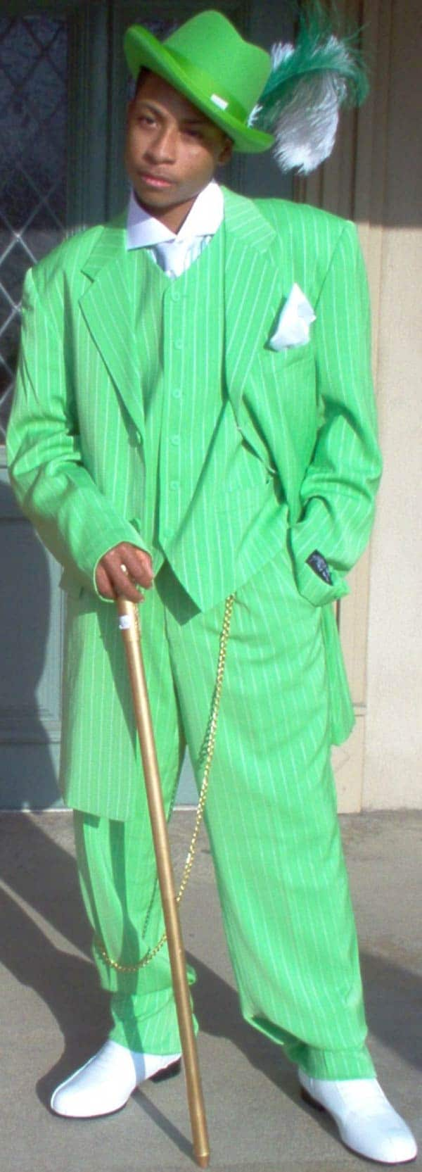 Green Suits - Looking Mean In Green - Men Style Fashion