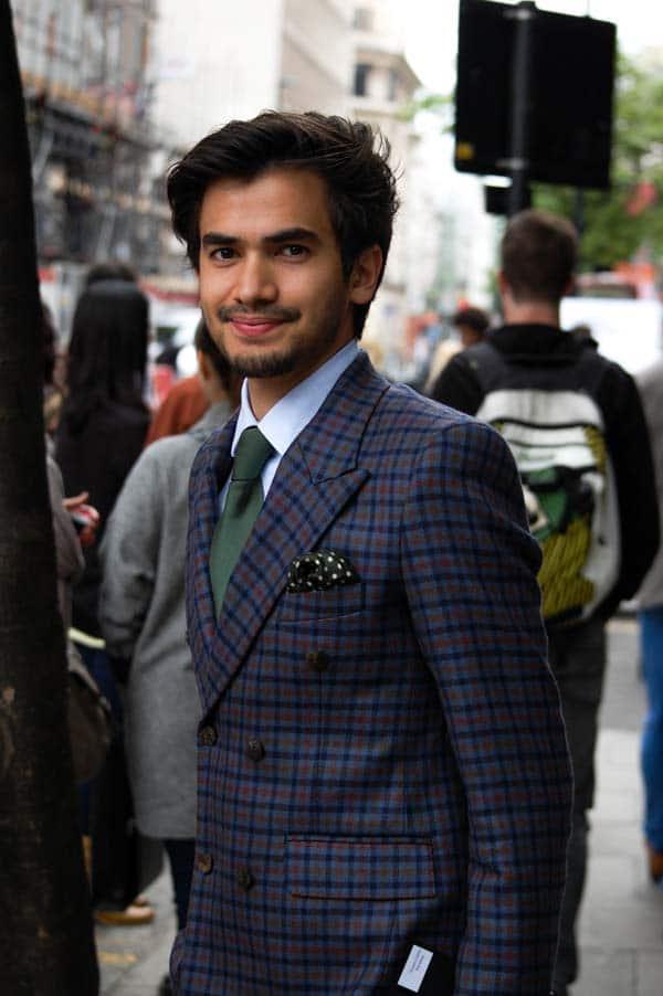 TOPMAN street style pocket Handkerchief
