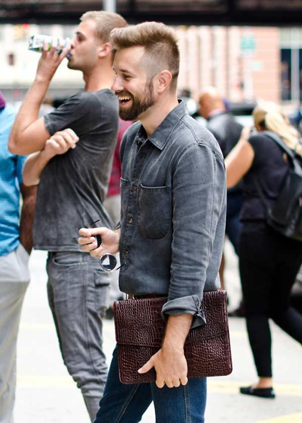 Man Bags - 3 Top Styles To Clutch Onto - Men Style Fashion
