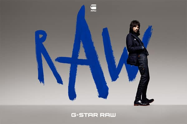 G-STAR the art of RAW campaign