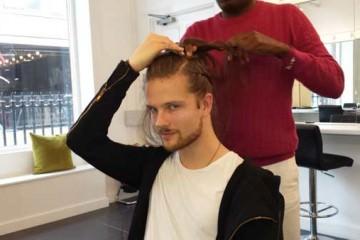 Kevin Fortune Hair Styling Academy London Fashion Week Braids