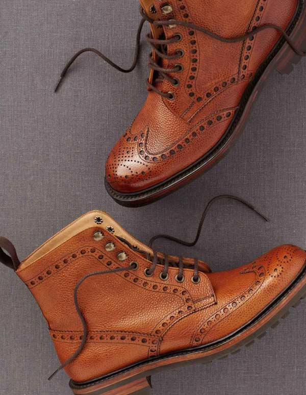 Brogues Boots Sale Brogue Country Brown Boot For