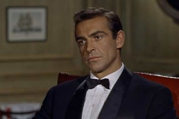 Sean Connery James Bond Black Tie