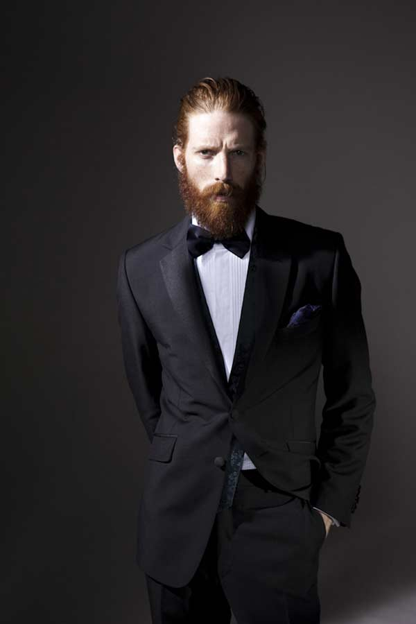 Waistcoats worn with a Tuxedo beards