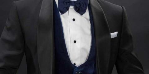Waistcoats worn with a Tuxedo