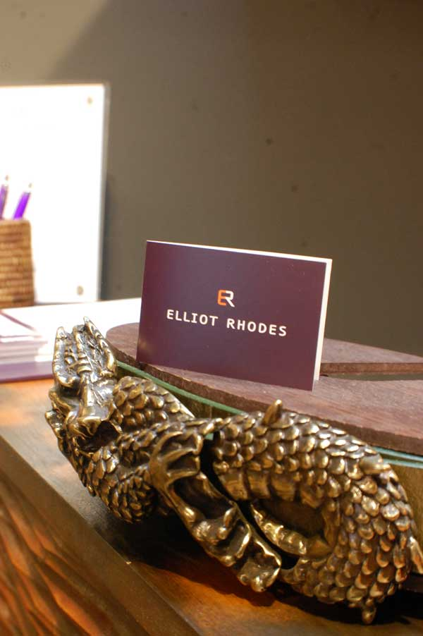 Elliot Rhodes - belts Harrods