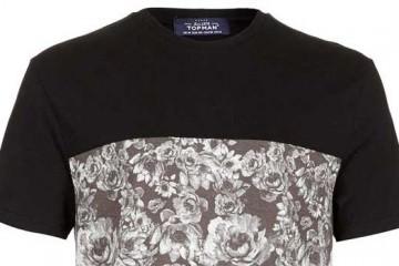 TOPMAN - Floral T-Shirts For Men