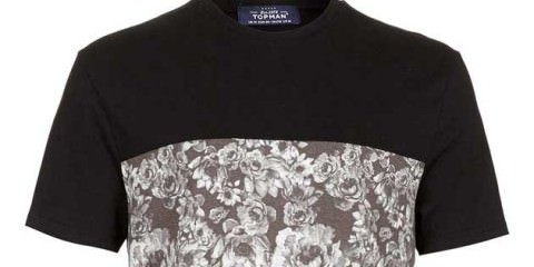 TOPMAN - Floral T-Shirts For Men
