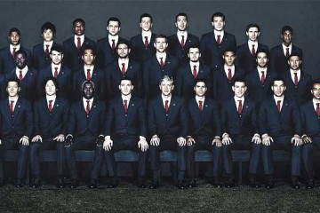 Arsenal football players 2013