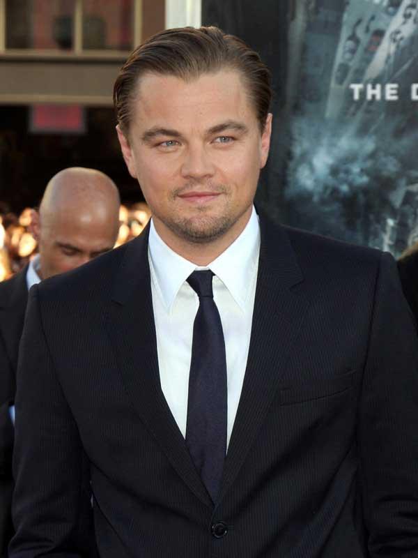 Leonardo Dicaprio Black Tie