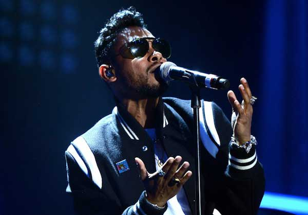 Miguel   wearing Saint Laurent Teddy Jacket