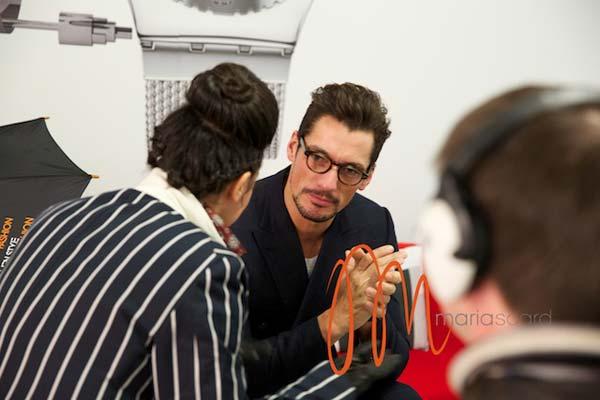 David Gandy - Interview with Gracie Opulanza