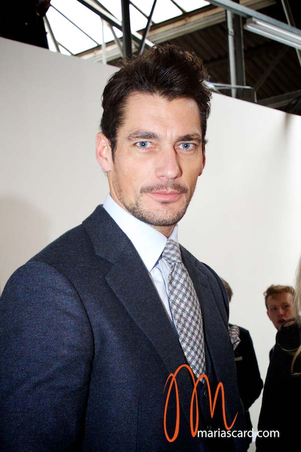 David Gandy - Kent & Curwen London Collections Men