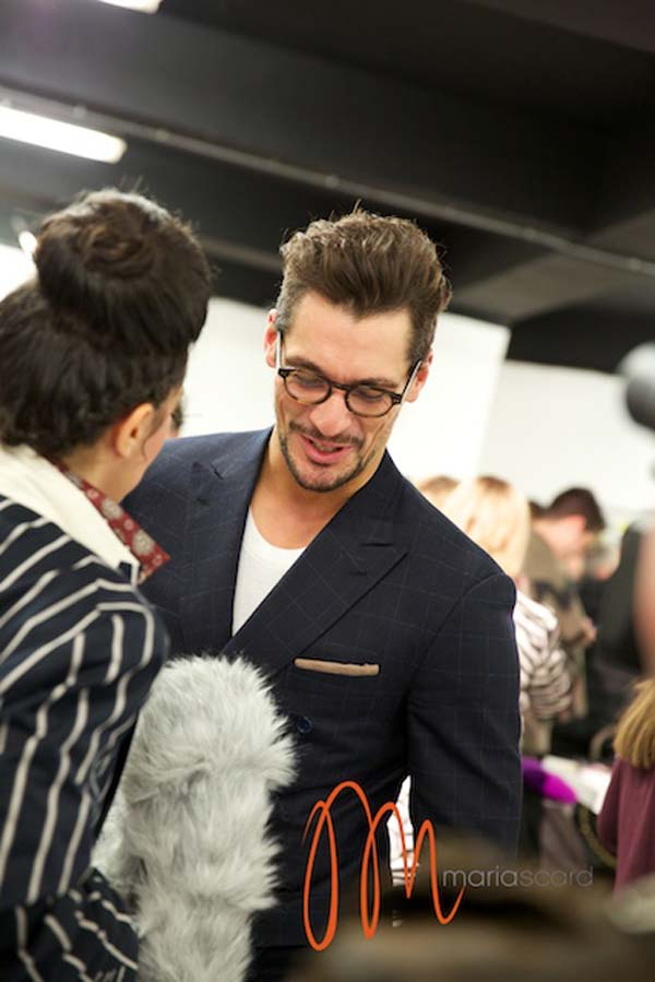 David Gandy London Collections men Breakfast