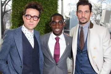 Nick-Grimshaw Tinie Tempah-&-David Gandy London Collections Men-2014
