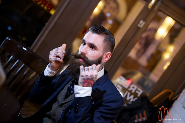 Ricki Hall - Beard & Tattoos Male Model