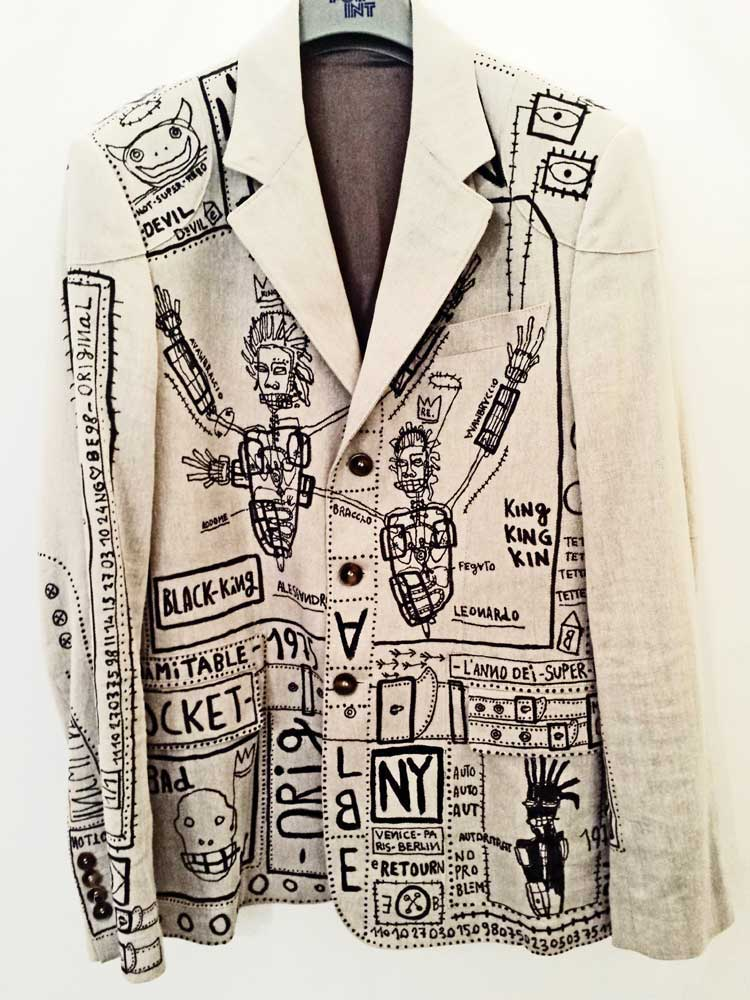BASQUIAT FROM VENICE EMILIANO DONAGGIO DESIGN