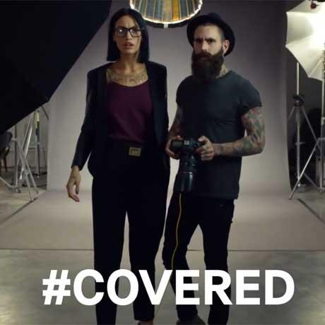 Ricki Hall - David Beckham H&M Uncovered advert