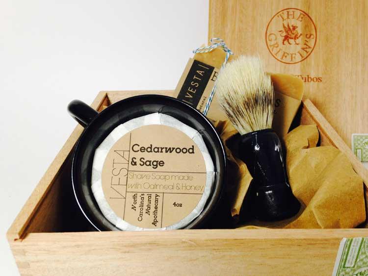 Cedarwood and sage - male grooming