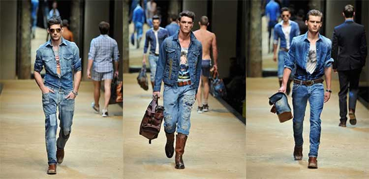 Denim on denim  men style