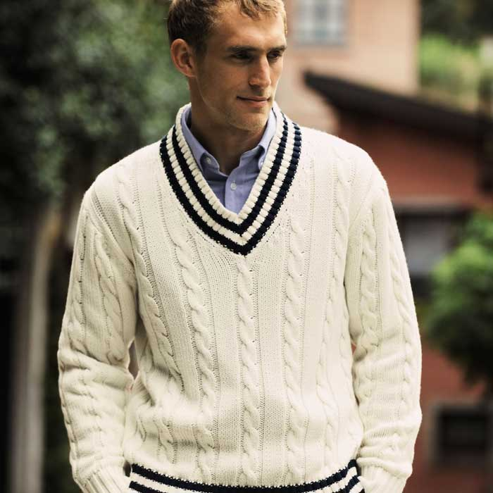 Knitting Patterns Cricket Jumper Free : Cricket Fashion - Come Back For Summer Fashion 2014 - Men ...