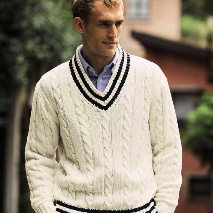 Knitting Pattern Cricket Jumper : Cricket Fashion - Come Back For Summer Fashion 2014 - Men Style Fashion
