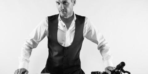 Greg Minnaar - Bespoke Dress Shirt by David Brooke 2014