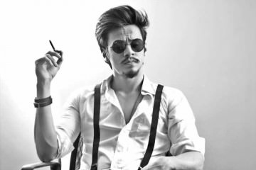 Cool Movember Moustache Classic Upward Downward The Chaplin Men Short Hairstyles Gunalazisus