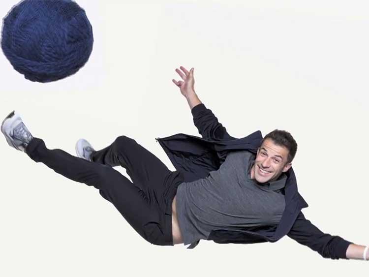 Alessandro Del Piero Promotes Merino Wool