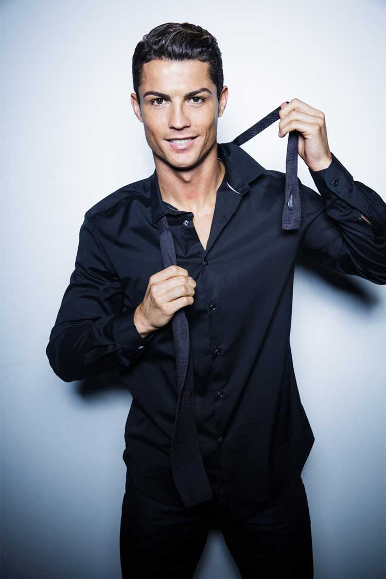 Christiano Ronaldo Form Football To Fashion