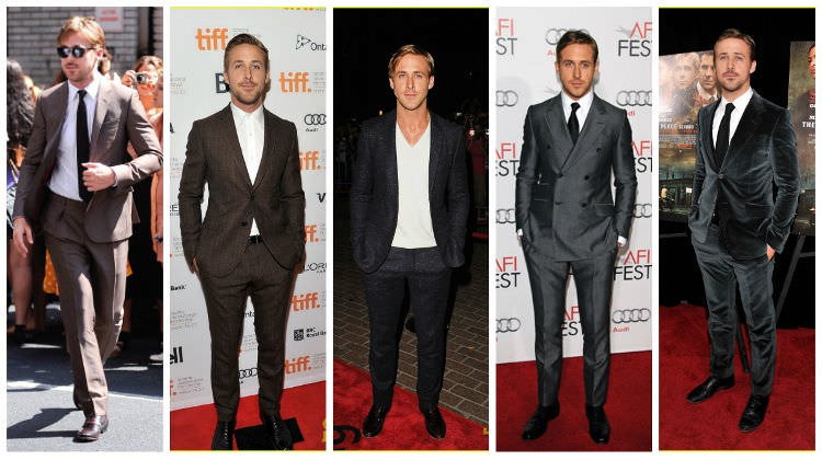 2 - ryan gosling suits