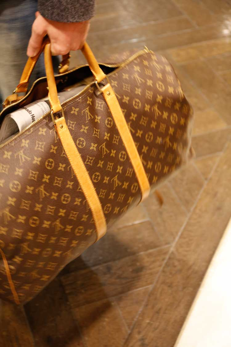 louis Vuitton vintage bag menstylefashion luxury week london (2)