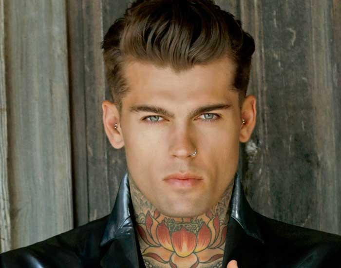 Stephen James  The New Breed Of Male Models  Men Style - Hairstyles Boys