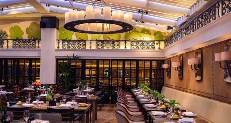 Novikov restaurant london asian food in opulent setting for Asian cuisine london