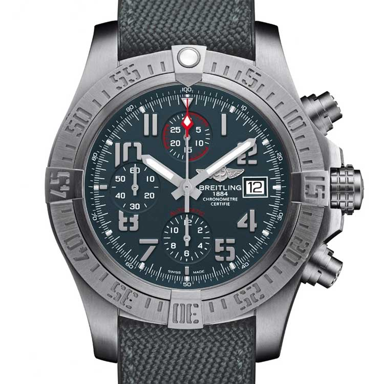 Breitling-Avenger-Bandit-watch-front-2