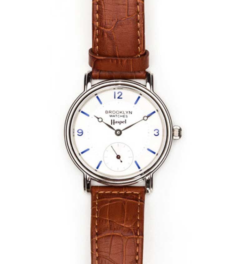 HASPEL-BROOKLYN-WATCH