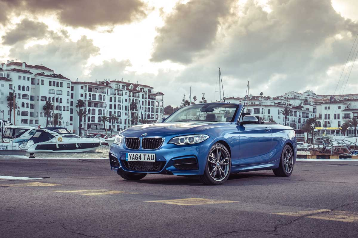 and review bmw convertible test tests report road