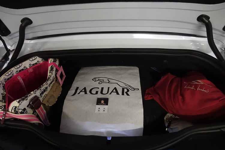 Jaguar F-type convertible boot space