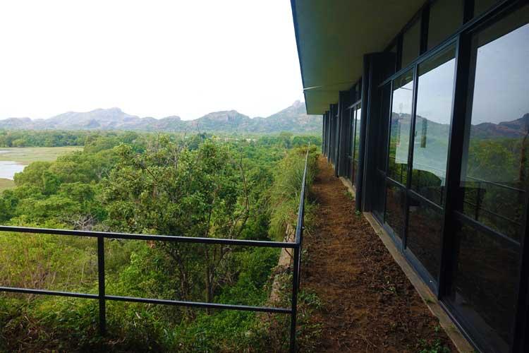 heritance Kandalama hotel review Sri Lanka - hotel gardens