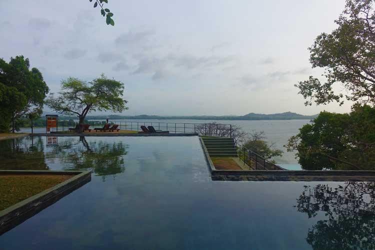 heritance Kandalama hotel review Sri Lanka - Pool