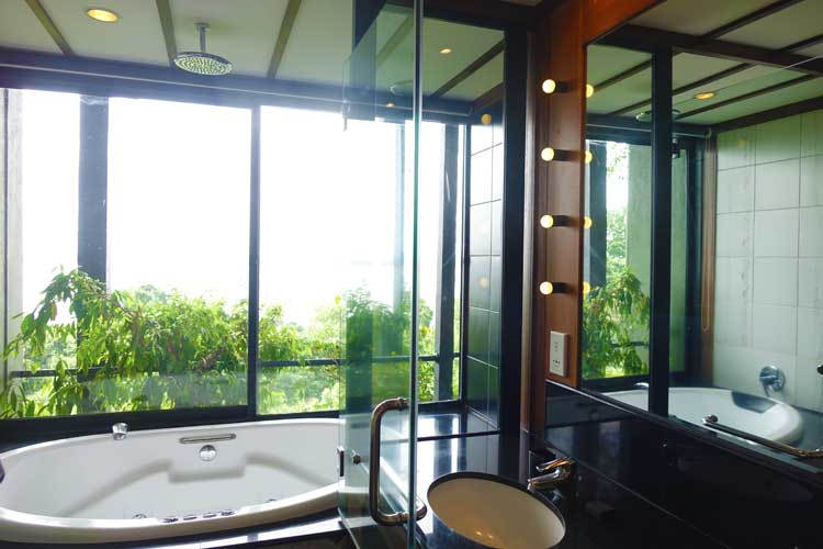 heritance Kandalama hotel review Sri Lanka - Bath room