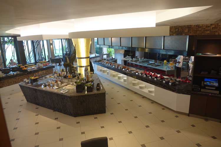 Heritance Negombo Sri Lanka hotel review - breakfast area