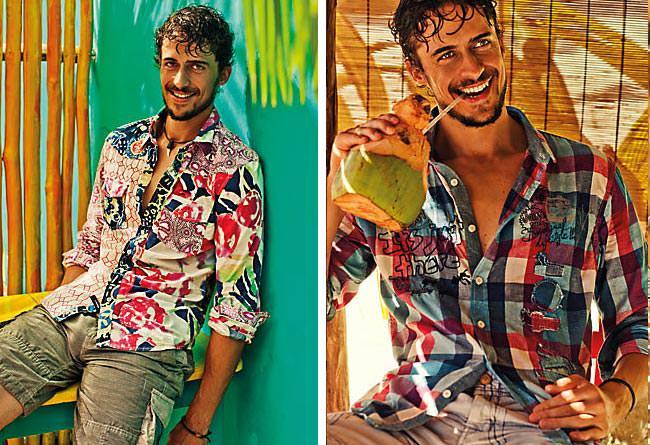 Desigual Men's Shirts Spring Summer 2012 - 2    Eric Monjoin