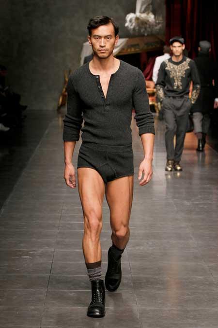 0728c9a1fd68 Dolce   Gabbana Winter 2013 - Men s Collection - Men Style Fashion