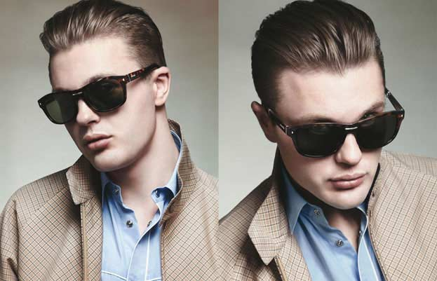 Prada Spring Summer 2012 Menswear Collection - Michael Pitt
