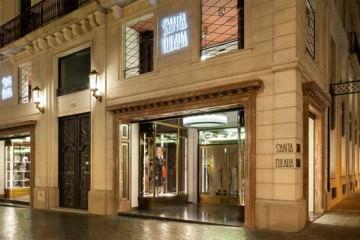 santa eulalia barcelona fashion store shop front
