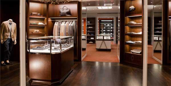 santa eulalia barcelona fashion store men's section 4